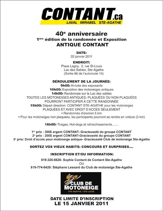 Exposition - Randonne 40e anniversaire